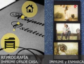 Reprografía - Imprime y enmarca -  Imprime desde Casa